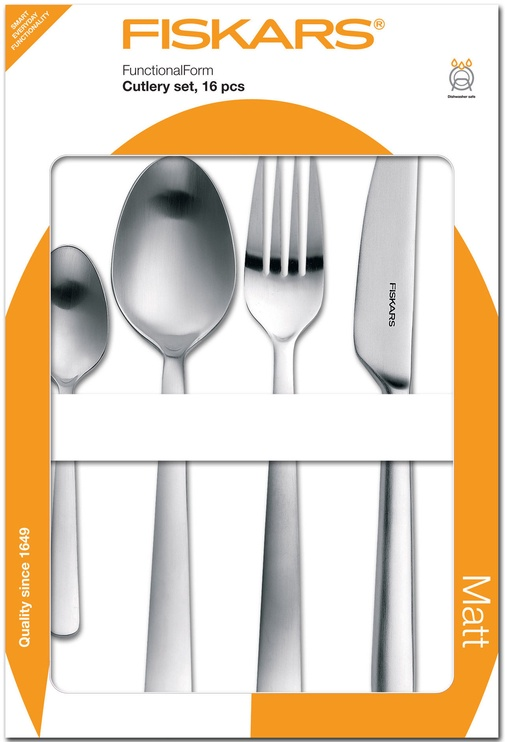 Fiskars Functional Form Cutlery Set 16pcs 1002958