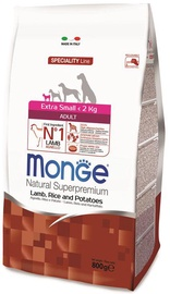 Monge Speciality Line Adult Extra Small Lamb & Rice 800g