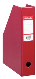 Esselte Vivida Magazine File Document Box Burgundy