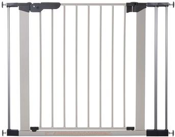 BabyDan Premier Safety Gate + 1 Ext Silver