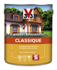 Puidukaitse V33 Classique 2,5 L tiigipuu