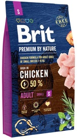 Brit Premium by Nature Adult Small Breed Chicken 3kg
