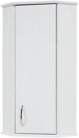 Vannitoakapp Sanservis KN-4 Standart Corner White 37.5x88x37.5cm
