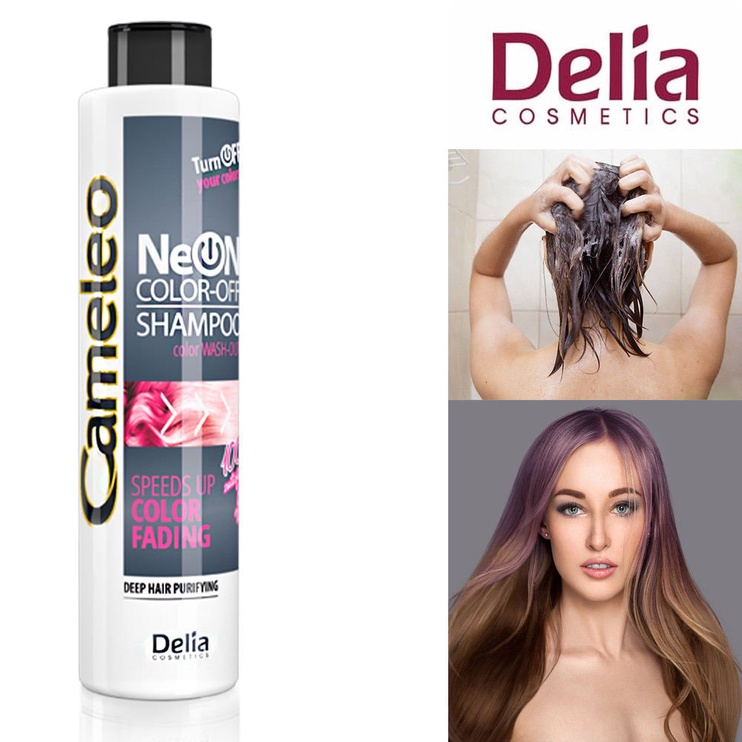 Delia Cosmetics Cameleo Neon Colors Wash Out Shampoo 200ml