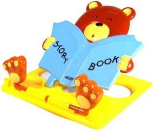 Herlitz Bear Book Pad Brown Yellow Blue