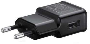 Samsung Universal USB Plug Charger For Phone/Tab Black