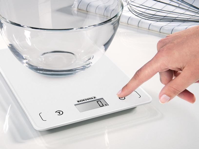 Soehnle Electronic Kitchen Scales Page Compact 200 White