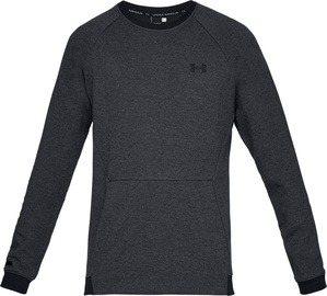 Under Armour Unstoppable Double Knit Crew Jumper 1329712-001 Black M