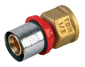 "Liitmik TDM Brass 1635, 3/4""x20mm, sk"