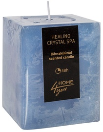 Home4you Candle Healing Crystal Spa 7.5x7.5xH10cm
