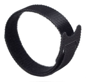 Gembird Velcro Cable Ties 210mm Black 100pcs