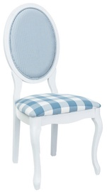 Signal Meble Chair LV-SC White/ Light Blue