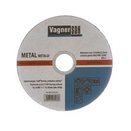 Lõikeketas Vagner SDH 200.81, 125x0,8x22 mm, metall