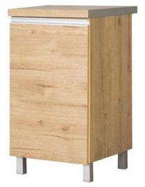 Нижний кухонный шкаф Bodzio Monia 45 Right Brown, 450x520x860 мм