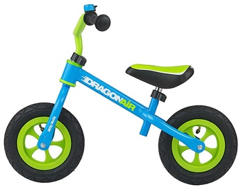 Lastejalgratas Milly Mally Dragon Air Balance Bike Blue 2763