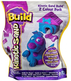 Spin Master Kinetic Sand Build 2 Color Pack Blue Purple