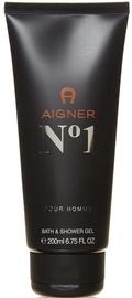 Aigner No. 1 Bath & Shower Gel 200ml