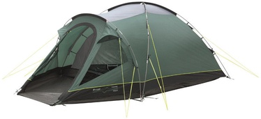 Telk Outwell Cloud 4 Two room Dome Tent Green
