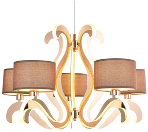 Candellux Ambrosia 3 5X40W E14 43.4W LED Hanging Ceiling Lamp Copper