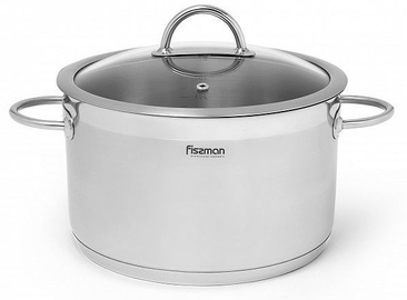 Fissman Valery Stockpot With Glass Lid D24cm 5.4l
