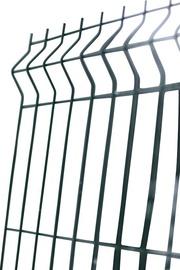 SN 3D Fence Segment Green 3D RAL6005 1530x4mm 2.5m