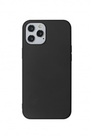 Just Must Apple iPhone 12 Pro Max Back Cover Black
