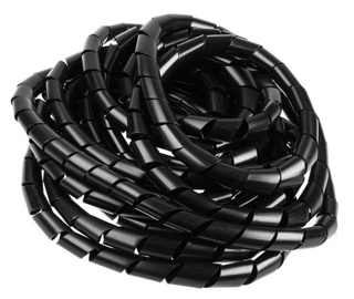 InLine Cable Shielding 25mm x 10m Black