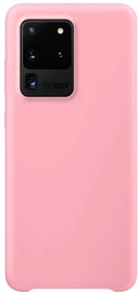 Hurtel Soft Flexible Rubber Back Case For Samsung Galaxy S20 Ultra Pink