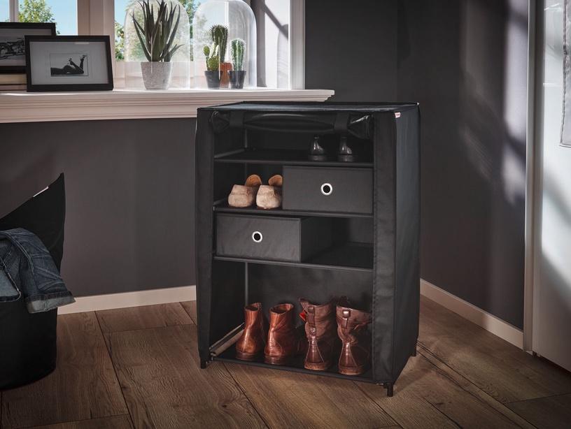 Leifheit Shoe Cabinet 60x35x81.5cm Combi System/Black