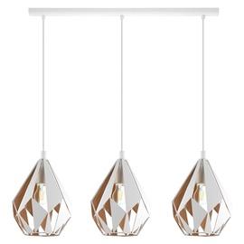 Eglo Carlton 1 43002 3x60W E27 Ceiling Lamp White