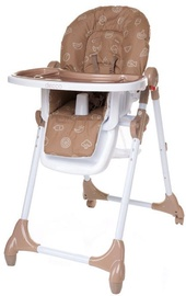 4Baby High Chair Decco Brown