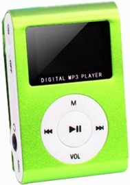Setty MP3 Super Compact Music Player Green