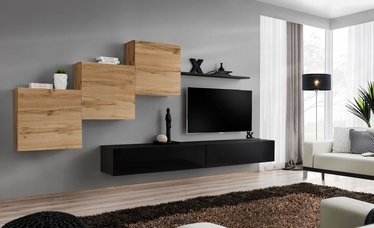 ASM Switch X Wall Unit Wotan Oak/Black