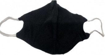 TakeMe Antibacterial 2-Layer Reusable Face Mask Black