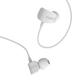 Remax RM-502 Comfort Shape Headset Mic/Answer Call White