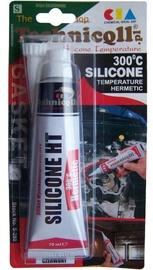 Technicqll High Temperature Silicone 300° Temperature Hermetic Red 70ml