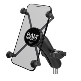 Ram Mounts X-Grip Large Phone Mount With Motorcycle Handlebar