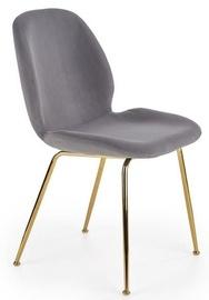 Halmar Chair K381 Grey/Gold