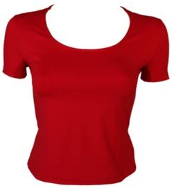 Bars Womens T-Shirt Red 119 M