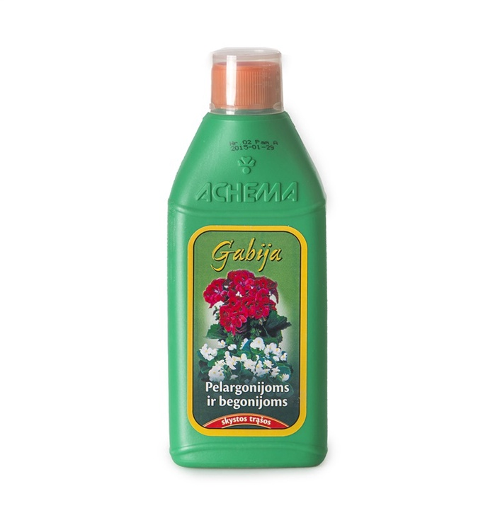 Achema Fertilizers For Geraniums And Begonias 0.5l