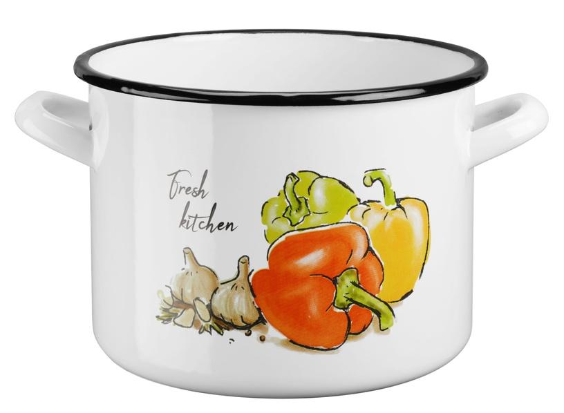 Galicja Fresh Kitchen Enameled Steel Pot 6l