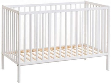ASM Cypi II Baby Cot with Mattress White
