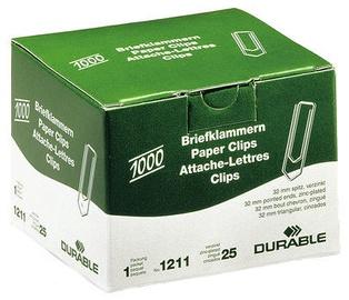 Durable Paper Clips 1000pcs 32mm