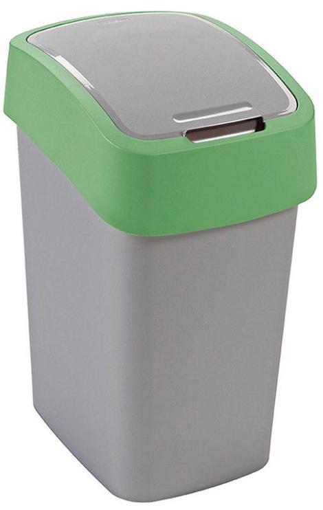 Curver FlipBin 25l Silver/Green