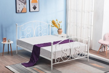 Halmar Bed Panama White
