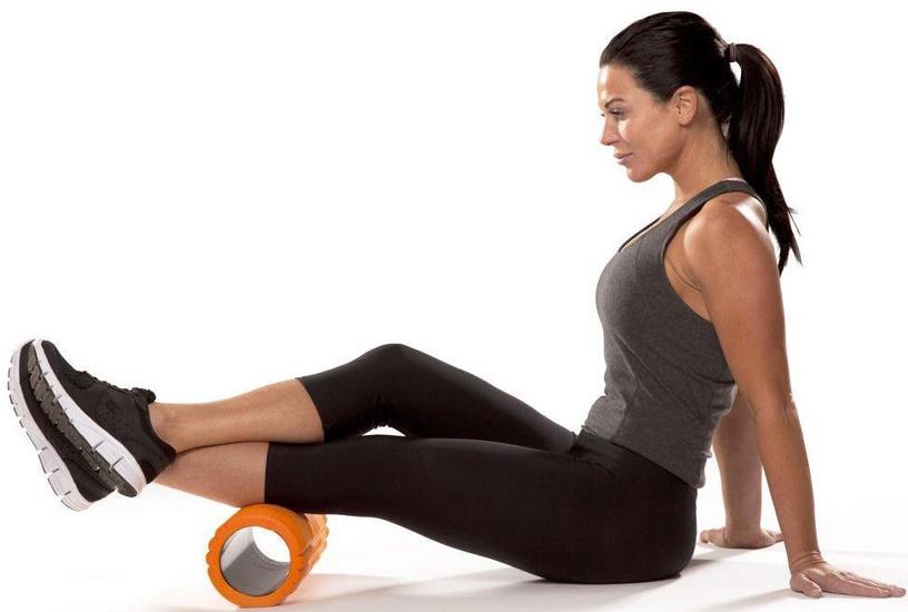 Trigger Point Grid Massage Roller Orange