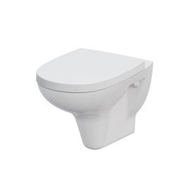 Seina WC-pott Cersanit Arteco, Soft close kaanega