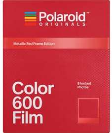 Polaroid Color 600 Film Metallic Red Frame Edition