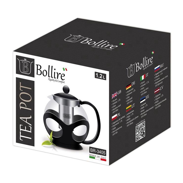 Teekann Bollire, su sieteliu, 1,2 l