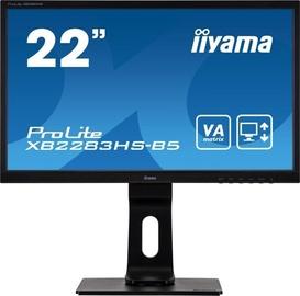 Монитор Iiyama XB2283HS-B5, 22″, 4 ms